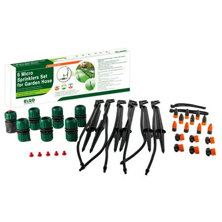 GENESIS 65FT Customizable Portable Sprinkler Watering (Garden Sprinkler System)