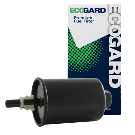 ECOGARD XF55215 Engine Fuel Filter - Premium Replacement Fits Chevrolet Tahoe, Suburban 1500, Silverado 1500 / GMC Yukon XL 1500, Yukon, Sierra 1500
