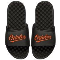 Baltimore Orioles ISlide Youth Wordmark Slide Sandals - Black