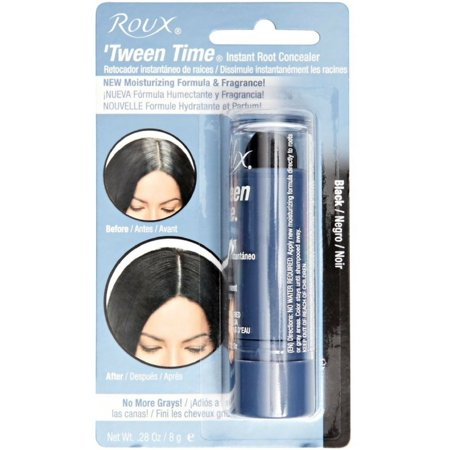 Roux  Temporary Haircolor Touch-Up Stick Black, 1 ea