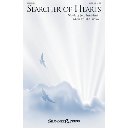 Shawnee Press Searcher of Hearts SATB composed by John Purifoy