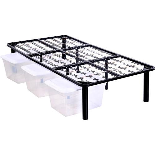 Steel Platform Bed Frame Walmartcom