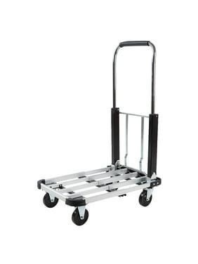 Ktaxon Folding Hand Truck Dolly Luggage Cart, 330lbs Capacity