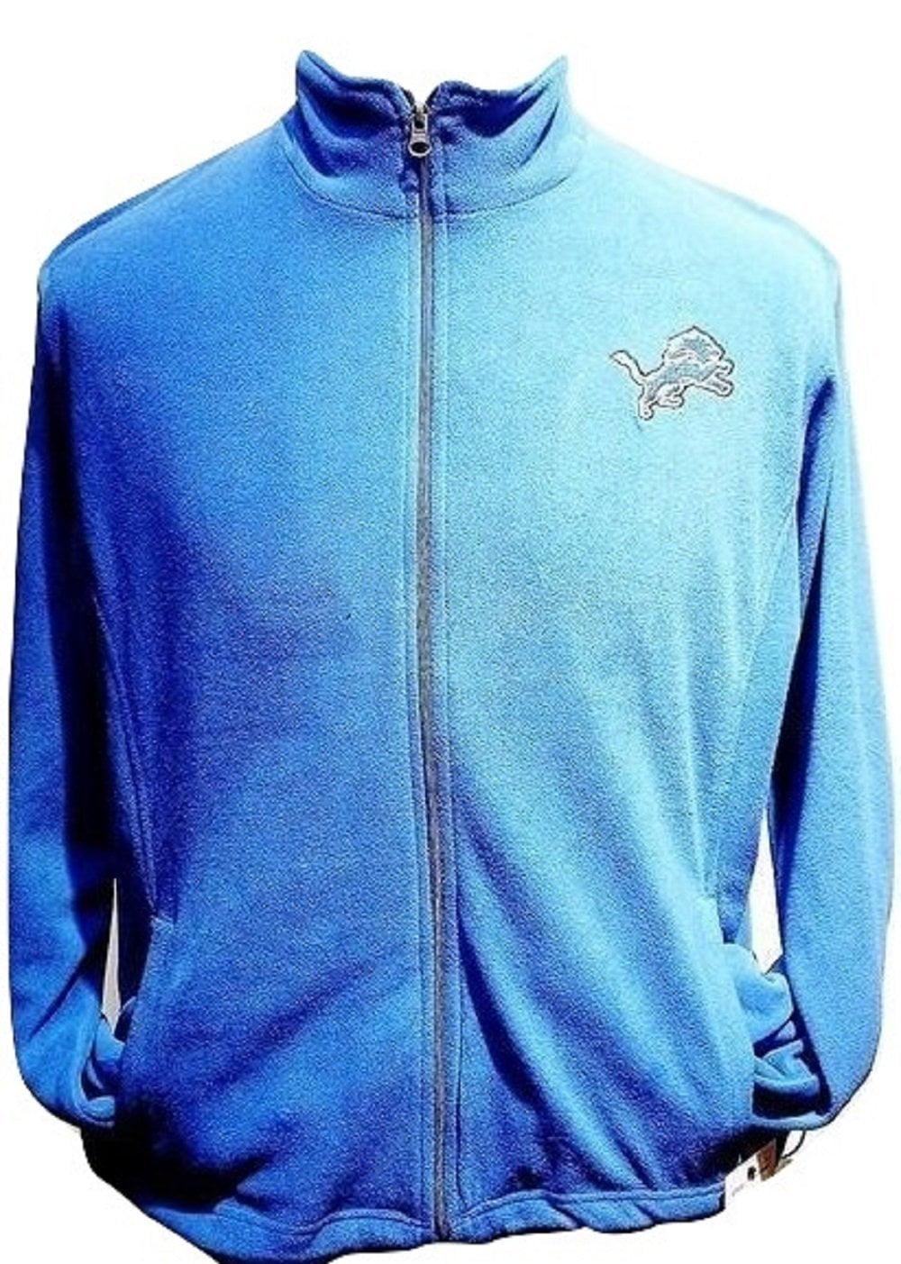 "Detroit Lions ""Shutout"" Lightweight Poly Fleece Jacket by G-III Sports"