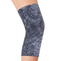 Celeste Stein Pain Relieving Compression Knee Sleeve - 4 Way Elastic Stretch Band for Extra Support