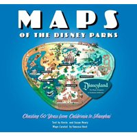 Maps of the Disney Parks : Charting 60 Years from California to Shanghai