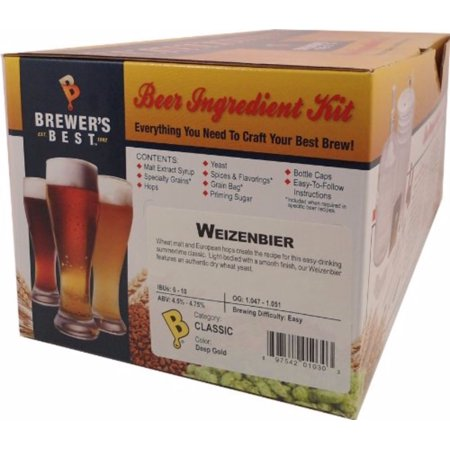 Brewers Best Weizenbier Beer Ingredient Kit