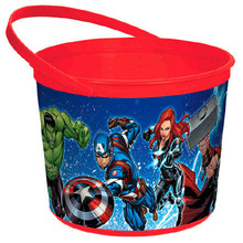 12X Marvel Epic Avengers Pack of 12 Favor Container Buckets