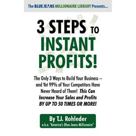 3 Steps to Instant Profits!