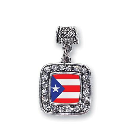 - Puerto Rico Flag Classic Memory Charm