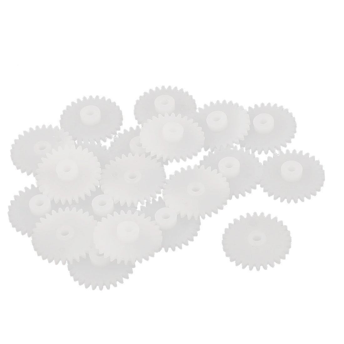 20 Pcs 28 Teeth 0.5 Modulus Plastic Single Reduction Motor Gear for RC Airplane by