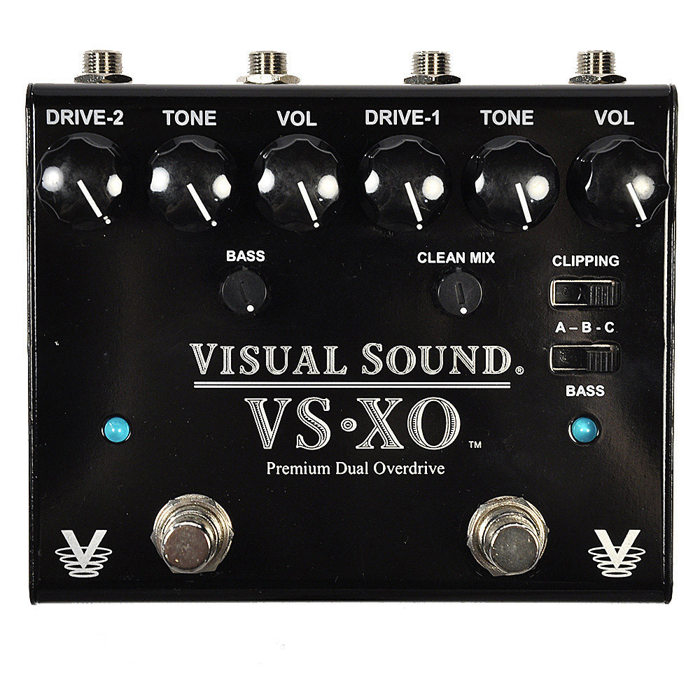 Visual Sound V3 XO Dual Overdrive by Visual Sound