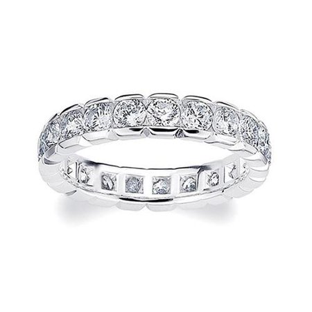 - Amore  Platinum 2ct TDW Diamond Eternity Band