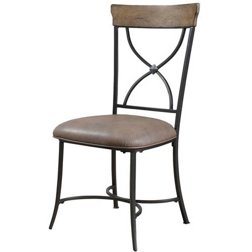 Hillsdale Furniture Charleston X-Back Dining Chairs, Set of 2, Desert Tan Finish