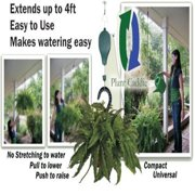 Extended Pulley For Hanging Plants - Plant Caddie Extends For Easy Watering