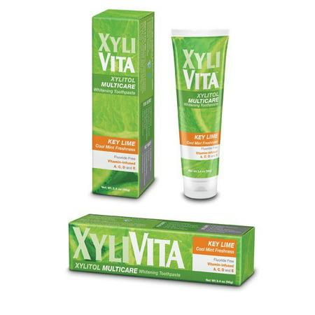 Multicare -Key Lime Dentifrice blanchissant  34 oz Crème