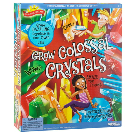 Scientific Explorer Grow Colossal Crystals](Crystal Growing Instructions)
