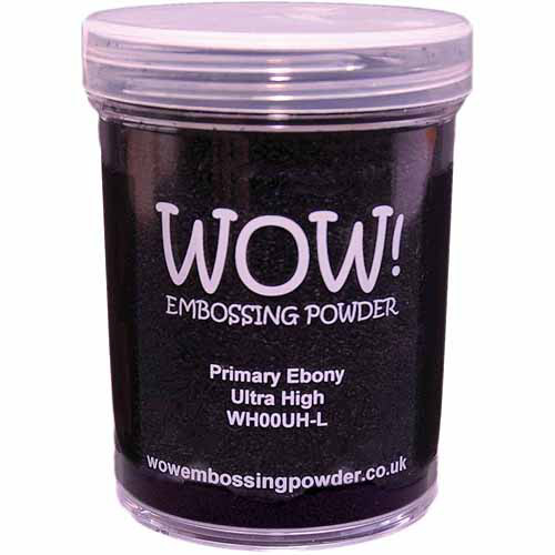 Wow! Embossing Powder Large Jar 160ml-Clear Gloss Regular