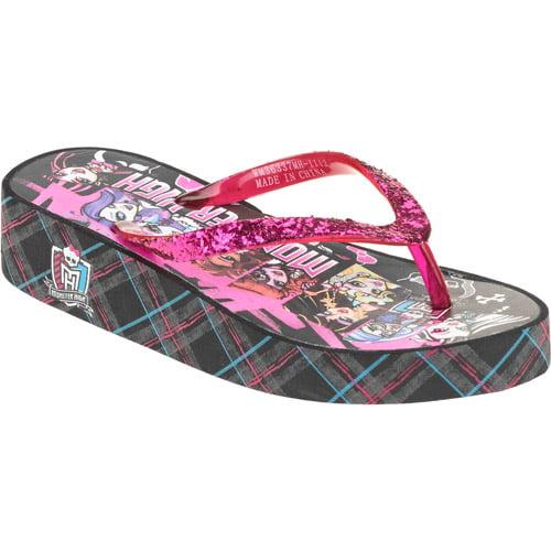 Monster High Girls' Flip Flop Sandals