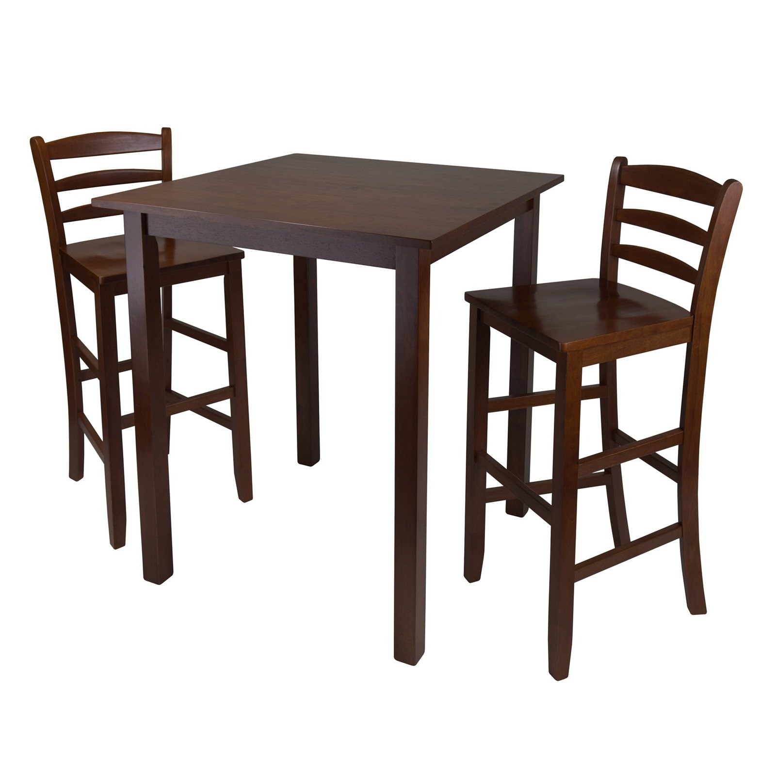 """Parkland 3-Pc High Table with 29"""" Ladder Back Stool"""