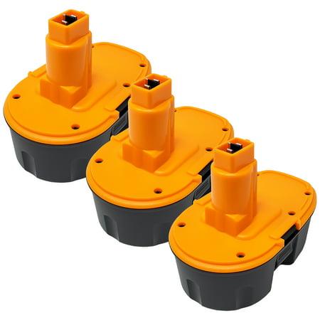 Factory Essentials 18 Volt 3.0 Ah Battery for Dewalt DC9096 Replaces DC9098 DC9099 DW9095 DW9096 DW9098 DE9038 DE9096 3Pack