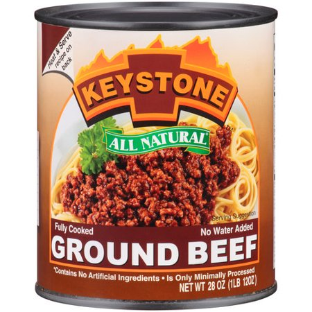 Keystone Ground Beef  28 Oz