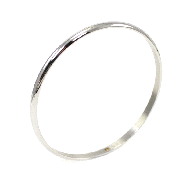 Shuzi Vitality Polished Bangle Stainless Steel Cuff Fashion Bracelet