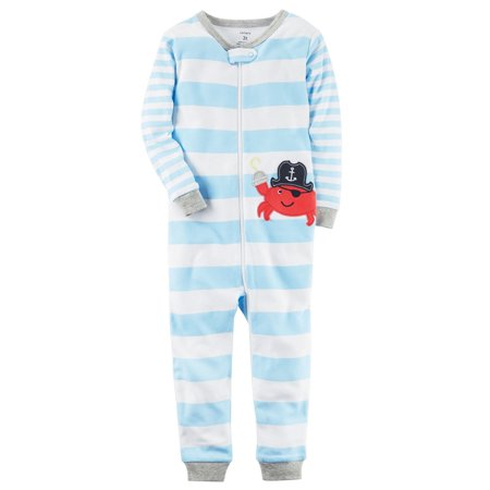 69bff01fa Carter s - Carter s Little Boys  1-Piece Snug Fit Cotton Footless ...