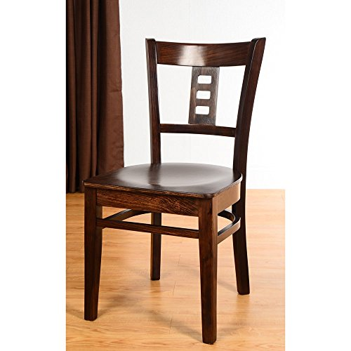 Beechwood Mountain Cinema Dining Chairs (Set of 2) Cherry Cherry Finish by Overstock