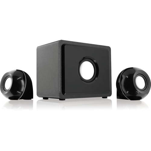 GPX 2.1 Channel Home Theater System with Subwoofer, Black, HT12B