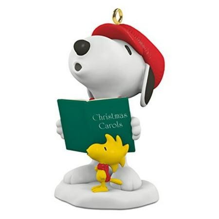 "Hallmark Keepsake Spotlight on Snoopy #19 ""Winter Fun"" Holiday Ornament"