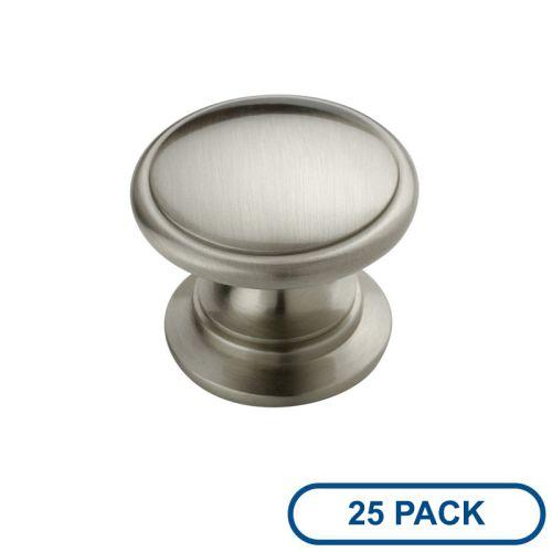 Amerock BP53012-25PACK Allison Value Hardware 1-1 4 Inch Diameter Mushroom Cabin by Amerock