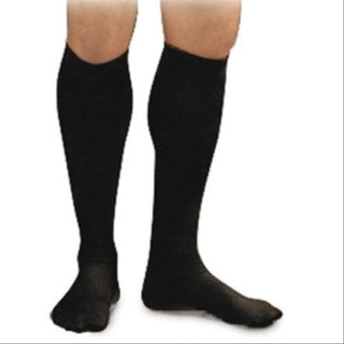 Image of Activa Men's 15 20 Mmhg Dress Socks Black Small