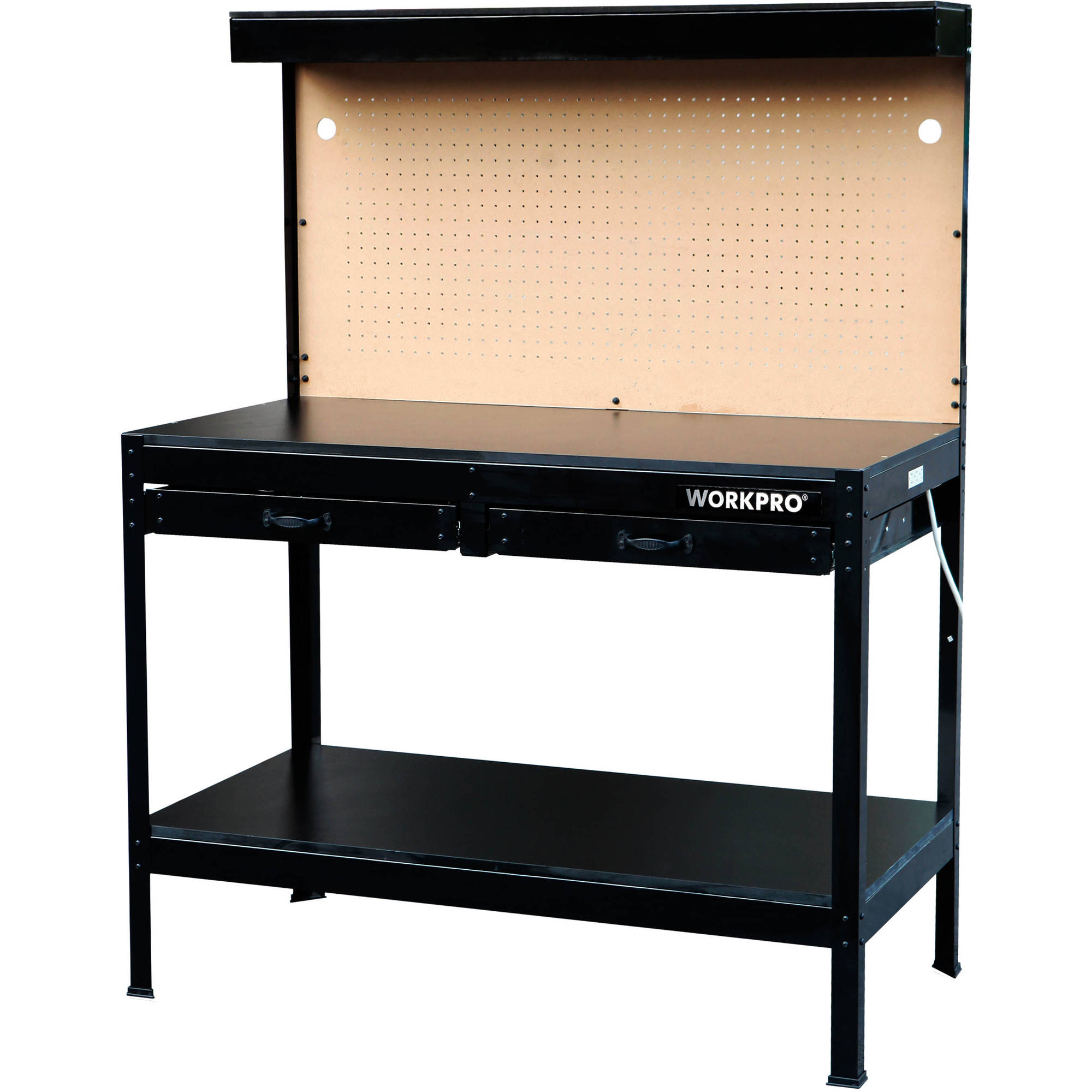 The Workpro Multi Purpose Workbench With Work Light Walmart