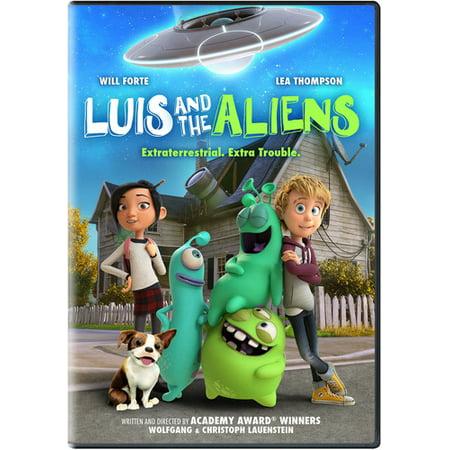 Luis And The Aliens (DVD) - Alien Empress