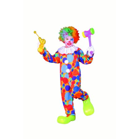 Polka Dot Clown Child Costume