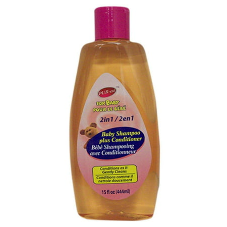 2 In 1 Baby Shampoo+ Conditioner (444ml) 309376 By Purest - image 1 of 1