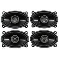 "(4) Hifonics ZS46CX 4x6"" 800 Watt Coaxial Car Audio Speakers"