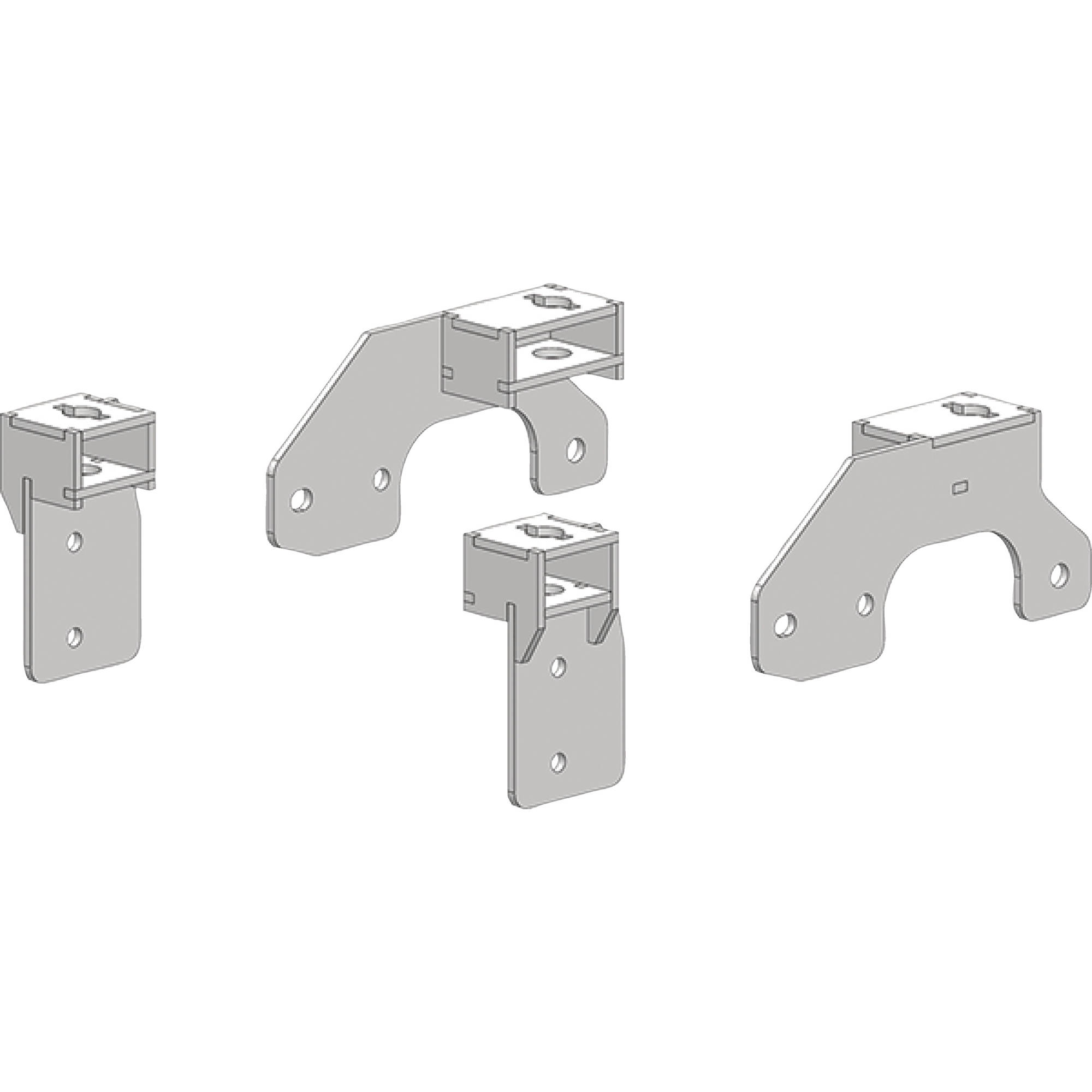 Pullrite 3345 Traditional Series SuperRail Mounting Kit f...