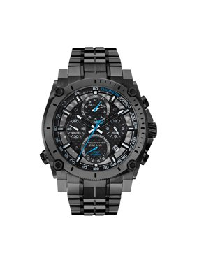Bulova Men's Precisionist Chronograph Stainless Steel Quartz Diving Watch