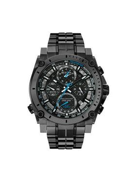 bd842de76612 Product Image Men s Precisionist 98B229 Gunmetal Stainless-Steel Quartz  Diving Watch