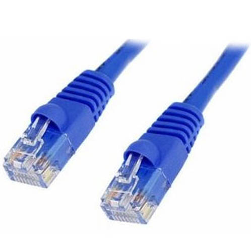 200' ft Blue Cat5e Network Ethernet Patch 200 Foot Cable Cord with Molded Boots