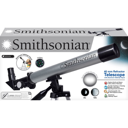 Smithsonian Telescope with Tabletop Stand