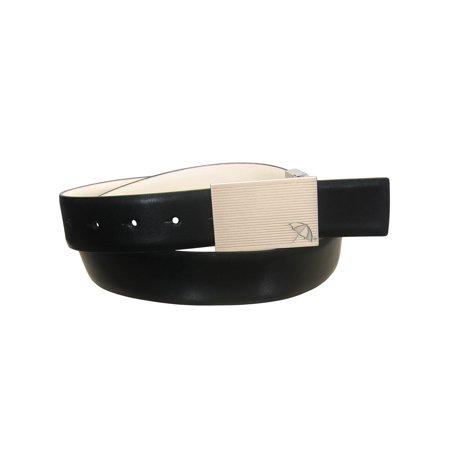 Arnold Palmer Golf Men's Reversible Leather Groove Belt (Sizes 30