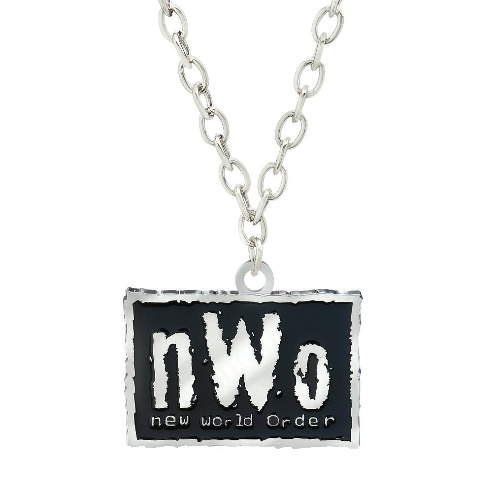 Official Wwe Authentic Nwo Pendant Black