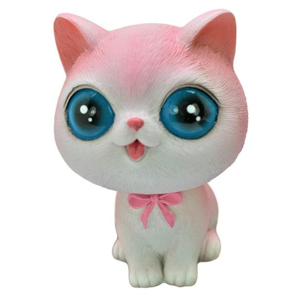 Cute Kitty Bobble Head Figure Car Office Home Accessories ...