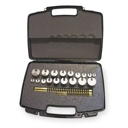 HASSAY SAVAGE CO. 15336 Keyway Broach Set, #C-10