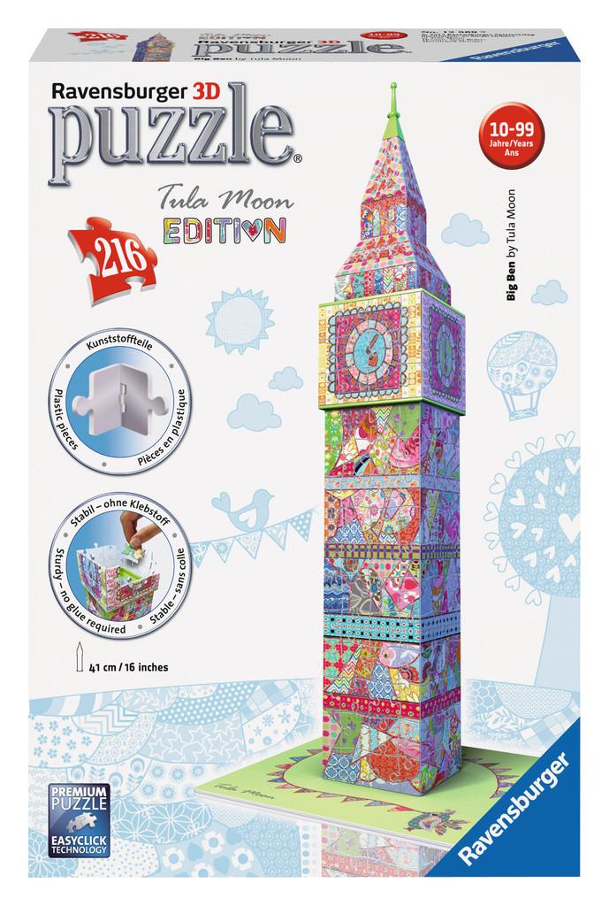 Big Ben Tula Moon Edition 216 Piece 3D Jigsaw Puzzle Ravensburger by Ravensburger