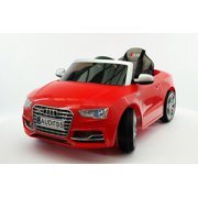 audi s5 sport licensed electric battery power ride on toy car for kids red