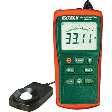 Extech EA30 Easy View Wide Range Light Meter (40 to 40,000 Foot
